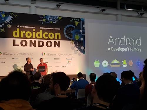 android history talk