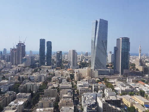 tel aviv view from Google Campus